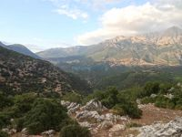 Achaia - Glastra - Place of ruined Monastery