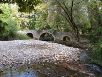 Achaia - Kalavrita - Dafni - Traditional Bridge with three arcs