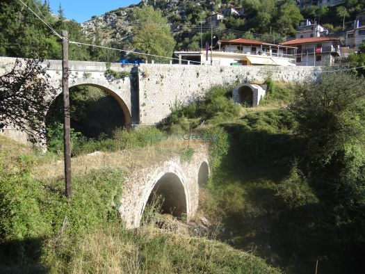 Kouri's Spring in Dimitsana's Entrance