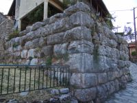 Part of Ancient Walls in Dimitsana's Acropolis