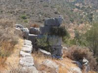 Agios Andreas - Acropolis of Ancient Anthinis - Walls Ruins
