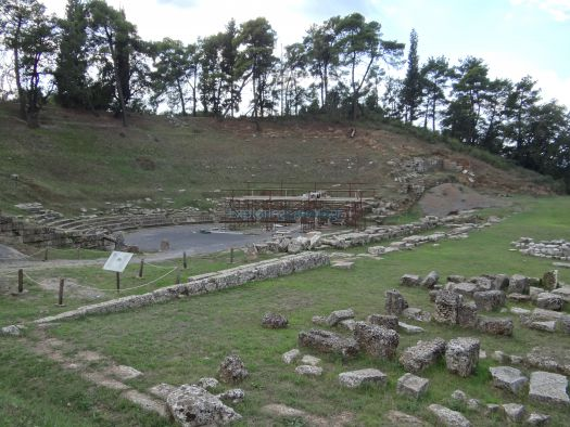 Megalopoli Arkadias - Archaeological Site - Ancient Theater
