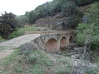 Arkadia - Chora - Pournogefiro Bridge (Erimanthos River)