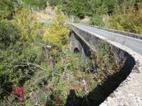 Old Bridge on Route to Tropea from Ladon's River Dam