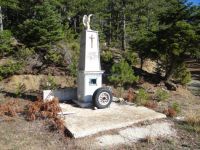 Monument for Fallen Air-Force Pilot - Agios Vassilios Kinourias