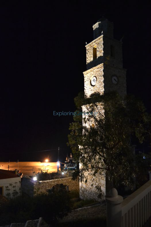 Dodecanese - Chalki - Old Clock Tower