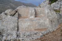 Dodecanese - Chalki - Throne of Zeus and Ekati