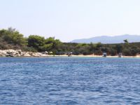 Beach at Agios Isidoros, Vourvourou, Chalkidiki