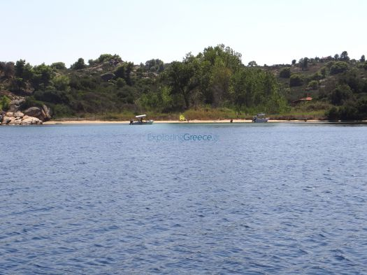 Diaporos is the biggest island in the bay of Vourvourou, Chalkidiki