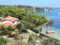 View of the settlement Fteroti, close to Vourvourou, Chalkidiki
