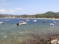 The seaside village of Toroni on the second leg of Chalkidiki
