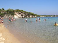 Talgo beach, between Ormo Panagias and Vourvourou in Sithonia, Chalkidiki