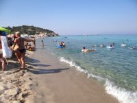 Armenistis beach on the second leg is one of the best beaches of Chalkidiki