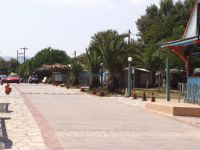 The settlement Valti, near the beach of Sykia on the east side of the 2nd leg of Chalkidiki