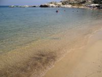 The beach Linaraki, close to the village Paralia Sykias in Sithonia, Chalkidiki