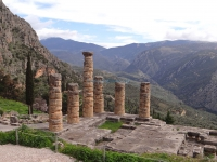 Fokida-Delphi-Apollo Sanctuary