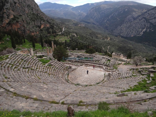 Fokida-Delphi-Ancient Theater