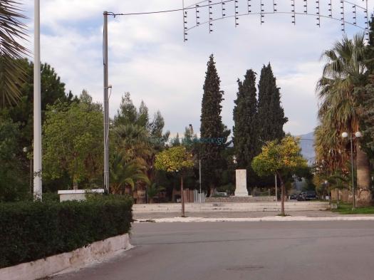 Φωκίδα-Ιτέα-Πλατεία Ηρώων