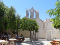 One of the oldest churches in Folegandros, Theoskepasti church in Chora