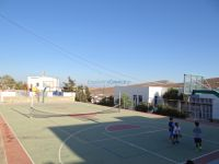 Cyclades - Folegandros - Chora - High School - Basketball Field