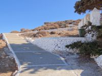 Cyclades - Folegandros - Chora - Start of the path to Panagia