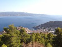 Hydra - View from Profitis Ilias Monastery