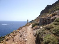 Lakonia - Vies - Velanidia - Path to Cavo Malia's Lighthouse