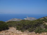 Lesser Cyclades - Iraklia  - View from Papa's Top