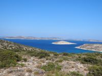 Lesser Cyclades - Iraklia - Wind Mill - View