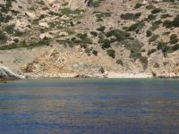 Lesser Cyclades - Donoussa - Beach before Seal Cave