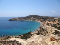 Lesser Cyclades - Kato Koufonissi - View to Nero Beach