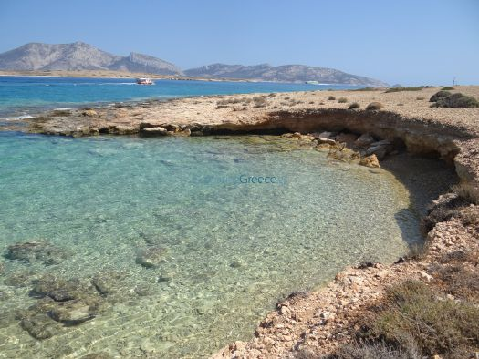 Lesser Cyclades - Kato Koufonissi - Beach After Panagia (4)