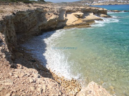 Lesser Cyclades - Kato Koufonissi - Beach After Panagia (6)
