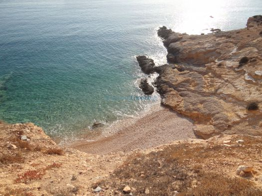 Lesser Cyclades - Koufonissi - Beach After Windmill in Saint Nicolas (2)