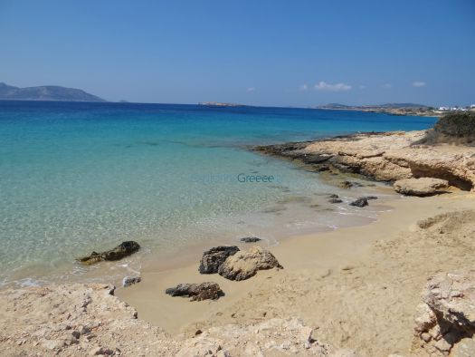 Lesser Cyclades - Koufonissi - Small Beach before Italida