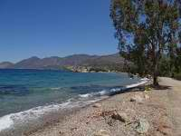 Beach before Agios Nikolaos