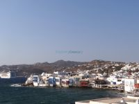Mykonos- Chora- View from the Windmills