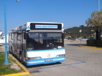 Argosaronikos- Poros-Bus terminal at the port