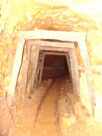 Inside the tunnels of the old mines