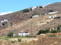 The almost deserted Megalo Chorio