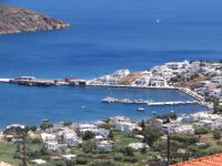The port of Serifos in Livadi