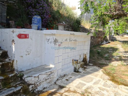 Cyclades - Serifos - Kallitsos - Fountain