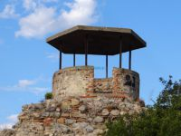 A well next to the byzantine castle Issaris in Sidirokastro