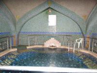 Indoor pool at the thermal baths in Sidirokastro