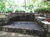 Fountains with running water in the valley of Neo Petritsi, Serres
