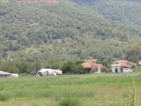 View of the village Stavrodromi, west of Kerkini Lake