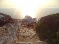 The church of Panagia Pantochara between the monastery of Zoodochou Pigis and Chora in Sikinos