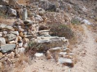 Cyclades - Sikinos - Path to Saint Panteleimon  - Well