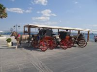 Argosaronikos - Spetses - Horse Coaches Terminal at Possidonio
