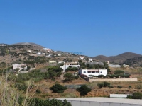 View of the settlement Vissa in the inland of Syros